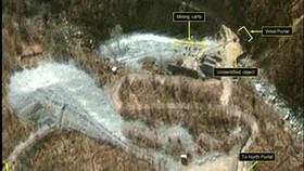 """Phát hiện dấu hiệu """"bất thường"""" tại bãi thử hạt nhân Triều Tiên. Ảnh: YONHAP"""