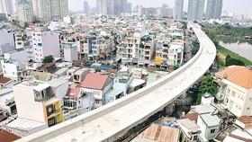 Metro Bến Thành - Suối Tiên qua quận Bình Thạnh