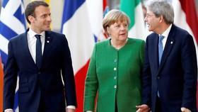 Các nhà lãnh đạo Pháp, Đức, Italia tham dự hội nghị thượng đỉnh EU
