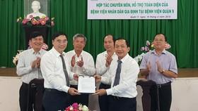 Ký kết hợp tác toàn diện giữa Bệnh viện Nhân dân Gia Định và Bệnh viện Quận 9