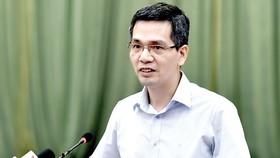 Ông Võ Thành Hưng, Vụ trưởng Vụ Ngân sách nhà nước (Bộ Tài chính)