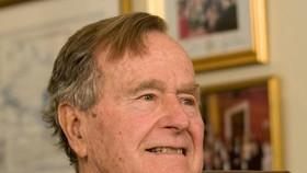 Tổng thống thứ 41 của Mỹ George Herbert Walker Bush. Ảnh: REUTERS