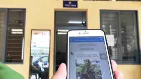 Thông tin về an ninh trật tự ở phường Linh Xuân (quận Thủ Đức)  được người dân chia sẻ qua group Zalo