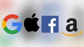 """Tứ đại gia Internet """"GAFA"""", Google, Amazon, Facebook và Apple, là mục tiêu chính của thuế doanh thu mới ở Pháp"""