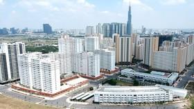 Khu dân cư tại phường Bình Khánh, một trong 4 phường sáp nhập tại quận 2 Ảnh: CAO THĂNG