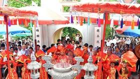 Lễ hội đền Chiêu trưng Đại vương Lê Khôi