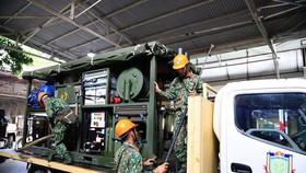 Binh chủng Hóa học (Bộ Quốc phòng) tham gia xử lý,  tẩy độc Công ty Rạng Đông