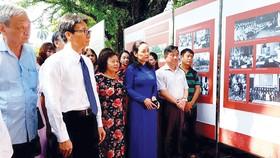 Phó Thủ tướng Vũ Đức Đam dự khai mạc triển lãm 50 năm  bảo tồn và phát huy giá trị Khu Di tích Chủ tịch Hồ Chí Minh tại Phủ Chủ tịch