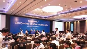 Quang cảnh buổi họp đại hội đồng cổ đông Eximbank