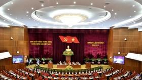 Hội nghị Trung ương 5 khóa XII thảo luận nhiều vấn đề rất lớn và quan trọng. Ảnh: VGP