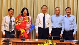 Sở Xây dựng, BQL Đường sắt đô thị TP, Tổng Công ty Địa ốc Sài Gòn có nhân sự mới