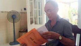 Ông Phạm Thanh Dự (ngụ huyện Bình Chánh, TPHCM) tiếc vì đã lãnh BHXH một lần nên giờ không có lương hưu
