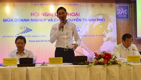 Phó Chủ tịch UBND TPHCM Trần Vĩnh Tuyến chủ trì hội nghị