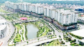 Khu dân cư tại đô thị Thủ Thiêm. Ảnh: CAO THĂNG