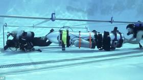 Tàu ngầm của tỷ phú Elon Musk đã sẵn sàng giải cứu đội bóng mắc kẹt trong hang Tham Luang