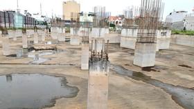 Dự án Vạn Hưng Phát, quận 8. Ảnh: CAO THĂNG