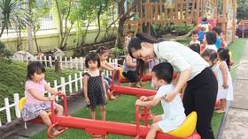 Lòng yêu trẻ là động lực giúp các cô giáo vượt qua khó khăn để theo nghề