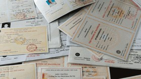 Ngăn ngừa việc làm giả giấy tờ