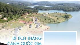 Di tích thắng cảnh quốc gia hồ Tuyền Lâm bị xâm hại như thế nào?