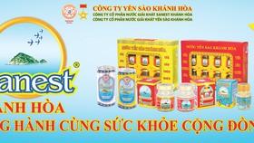 Công ty Yến Sào Khánh Hòa: Sản phẩm mới nước Yến sào Sanest Đông Trùng Hạ Thảo