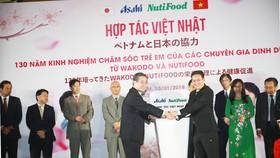 Công bố liên doanh giữa NutiFood với Tập đoàn Asahi của Nhật Bản
