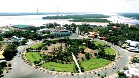 Một góc TP Cần Thơ - đô thị miền sông nước. Ảnh: HÀM LUÔNG