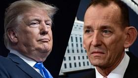 Tổng thống Mỹ Donald Trump đã thông báo sa thải Giám đốc Cơ quan Mật vụ Randolph Alles. Nguồn: Huffpost