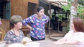 """Mâu thuẫn chị em dâu được tái hiện trong bộ phim truyền hình """"Gạo nếp gạo tẻ"""". Ảnh: ĐPCC"""