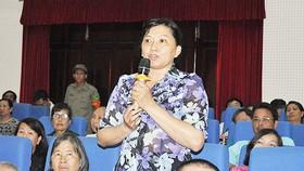 Lịch tiếp xúc cử tri của Đoàn đại biểu Quốc hội TPHCM