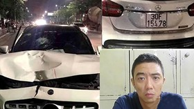 Khởi tố, bắt tạm giam lái xe Mercedes gây tai nạn tại hầm Kim Liên
