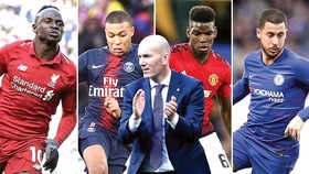 HLV Zidane và bản danh sách ngôi sao có thể sở hữu trong mùa hè