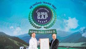 Vinamilk nhận xác nhận hệ thống trang trại chuẩn Global G.A.P. lớn nhất Châu Á về số lượng trang trại
