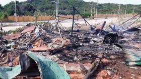 Cháy nổ ở sân golf, 2 người chết, 8 người bị thương