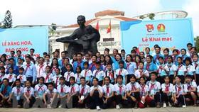 358 đại biểu thiếu nhi, phụ trách Đội tham gia liên hoan. Ảnh: TTXVN