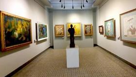 Triển lãm tranh sơn dầu của họa sĩ Lê Bá Trọng