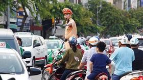 Giữ gìn hình ảnh cảnh sát giao thông