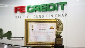 """FE Credit được vinh danh """"Top 10 doanh nghiệp được tin dùng nhất châu Á"""""""