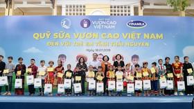 Trao tặng hơn 70.000 ly sữa cho trẻ em tỉnh Thái Nguyên
