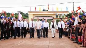 Khánh thành trường dân tộc bán trú tại xã đặc biệt khó khăn
