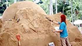 Lễ hội cát ở Sentosa