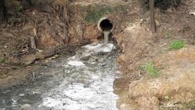 Xả nước thải gây ô nhiễm, doanh nghiệp bị xử phạt 357 triệu đồng