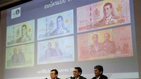 Thái Lan công bố tiền giấy mới  có ảnh tân vương