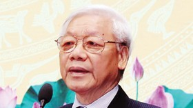 Tổng Bí thư Nguyễn Phú Trọng phát biểu tại lễ kỷ niệm