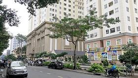 Chung cư Vĩnh Viễn - Tân Phước (quận 11) được xây dựng mới sau khi tháo dỡ chung cư cũ. Ảnh: LƯƠNG THIỆN