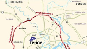 TPHCM và các tỉnh triển khai xây dựng tuyến vành đai 3 đoạn Nhơn Trạch - Tân Vạn - TPHCM