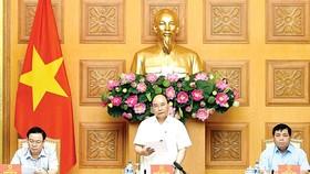 Thủ tướng Nguyễn Xuân Phúc chủ trì cuộc họp của Ban chỉ đạo Quốc gia về tái cơ cấu kinh tế