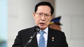 Bộ trưởng Quốc phòng Hàn Quốc Song Young-moo.  Ảnh: YONHAP/TTXVN