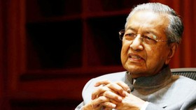 Thủ tướng Malaysia Mahathir Mohamad - Ảnh: Reuters.