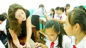 Học với giáo viên bản ngữ luôn khiến học sinh thích thú