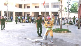Tập huấn PCCC cho cộng đồng